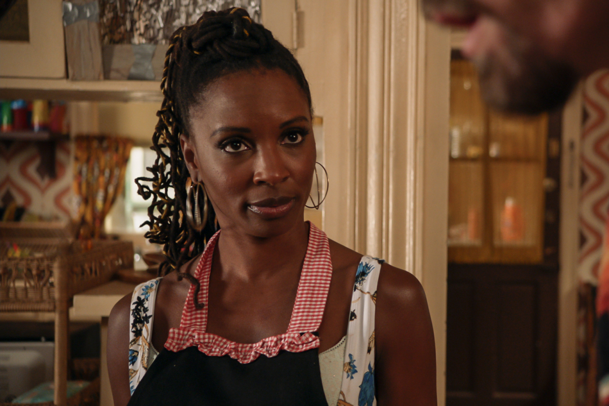 "Shameless star Shanola Hampton is saying goodbye. Hampton portrays the Gallagher family's sassy neighbor, ""Veronica 'V' Ball,"" formally Fisher, since season one and starring opposite costars William H. Macy as Frank Gallagher, Noel Fisher as Mickey Milkovich, Steve Howey as Kevin Ball, Cameron Monaghan as Ian Gallagher, Emma Kenney as Debbie Gallagher, and Christian Isaiah as Liam Gallagher. After a fantastic journey of acting and directing, she sends her farewell to her longtime friends and family she's worked with along the way as the Showtime drama ends after 11 seasons."